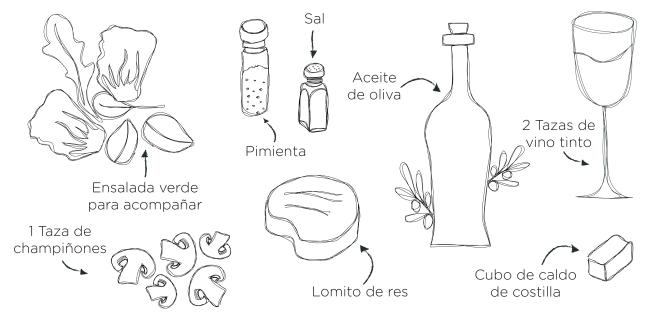 Carne con champiñones-10
