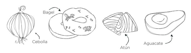 Bagel de atún-11