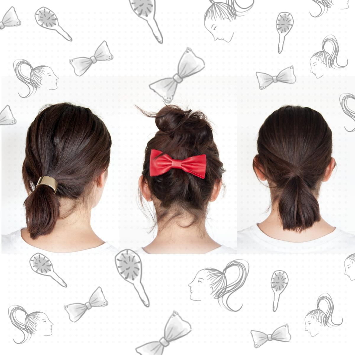 3 peinados fáciles para pelo corto