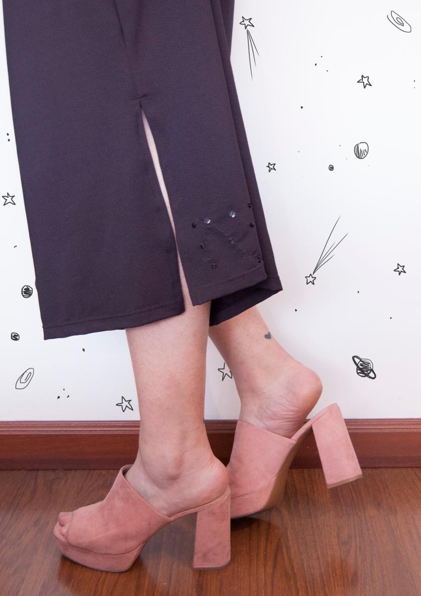 Un pantalón estrellado con La Bloom