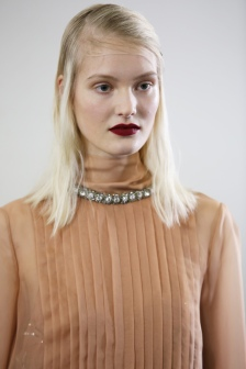 Backstage at Rochas RTW Fall 2018